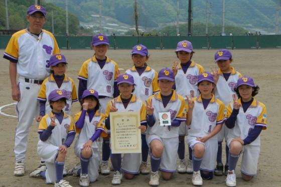 ⑪女子3位・フェニックススポーツ少年団