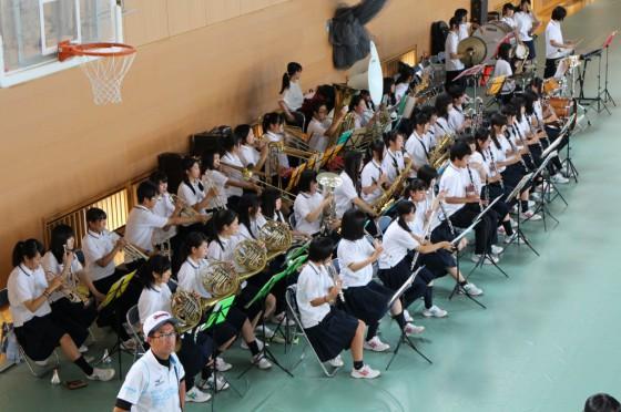 ④昭和高校吹奏楽部