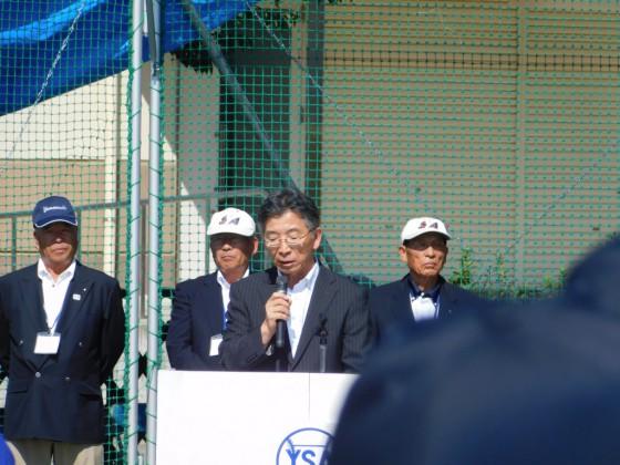 ⑨北杜須教育長の挨拶