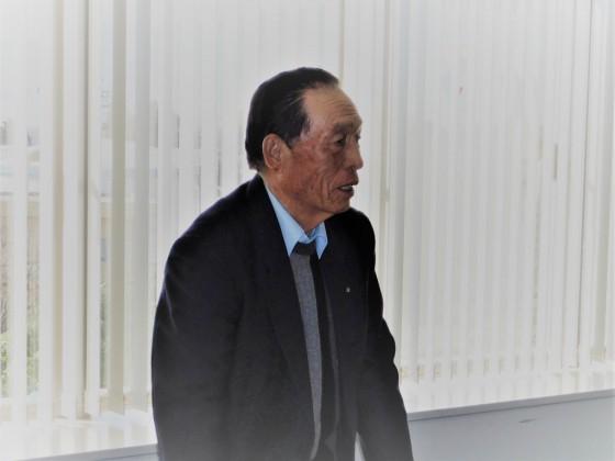 ②松田会長の挨拶
