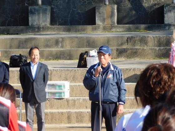 ⑥松田会長の挨拶
