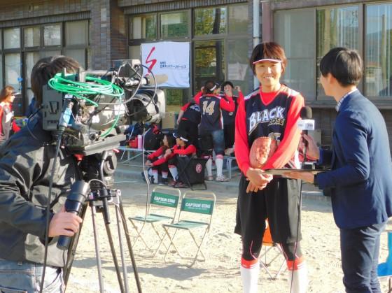 ⑩最優秀選手インタビュー
