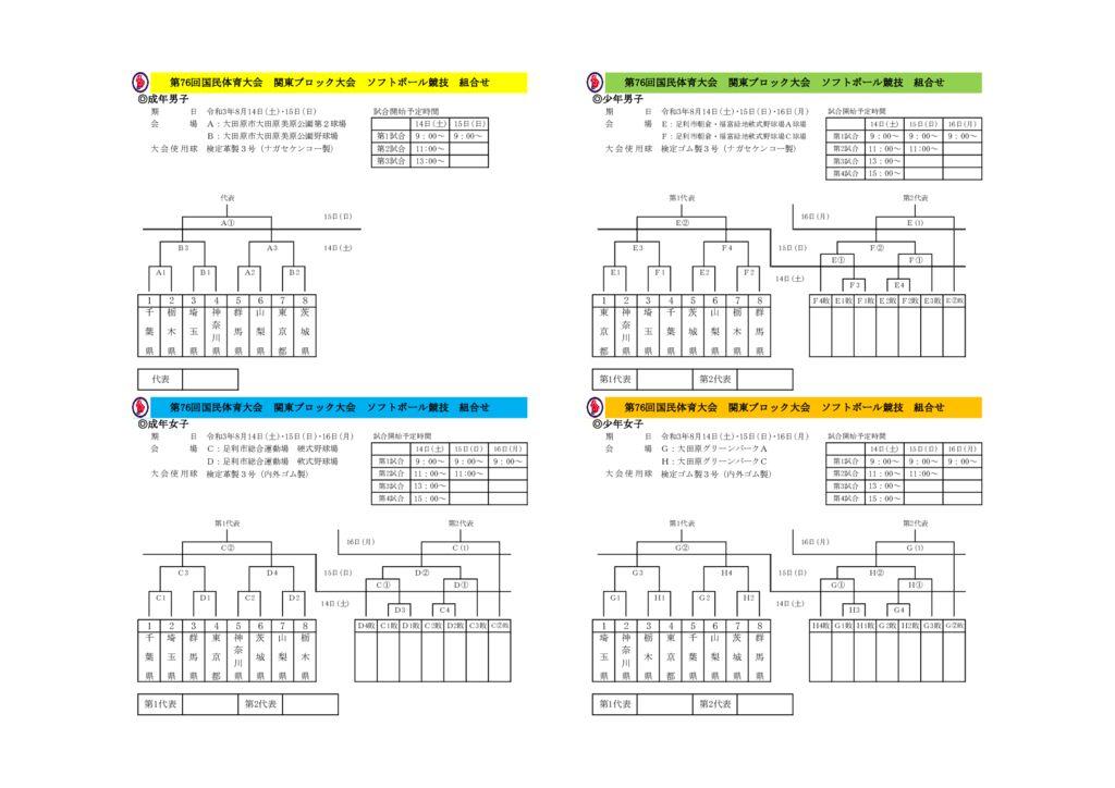 2021-76国体関東ブロック組合せ全体のサムネイル